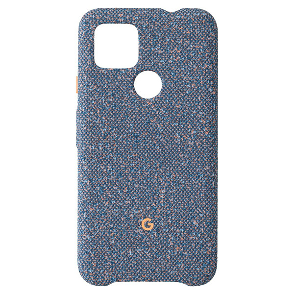 Чехол Google Fabric Case Blue Confetti для Google Pixel 4a 5G синий GA02063