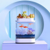 Аквариум Xiaomi Descriptive Geometry Mini Lazy Fish Tank White белый HF-JHYG005
