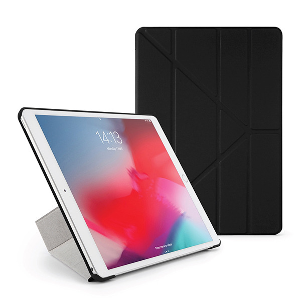 "Чехол-книжка Pipetto Origami Case Black для iPad Pro 10.5""/Air 2019 чёрный P043-49-4"