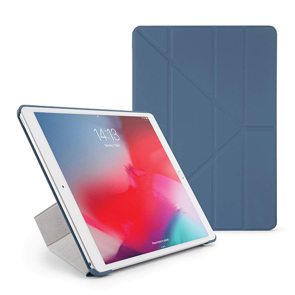 "Чехол-книжка Pipetto Origami Case Navy для iPad Pro 10.5""/Air 2019 голубой P043-51-4"