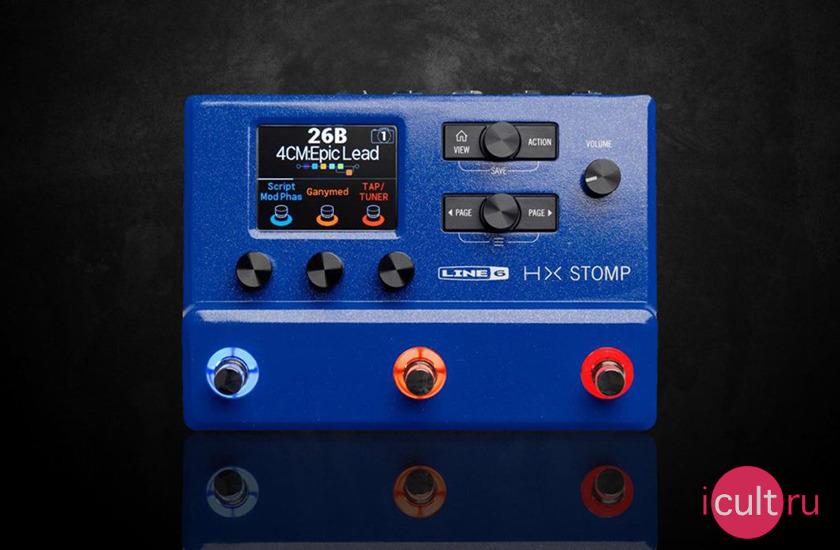 Line 6 HX Stomp Limited Edition Blue