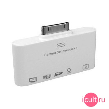 USB адаптер + кард-ридер + видеовыход Connection Kit 5 in 1 для iPad DR05-IPA