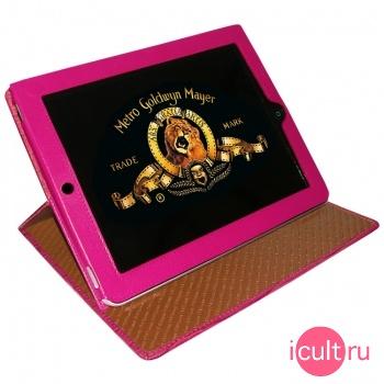 Кожаный чехол Piel Frama iPad Cinema Case Crocodile Pink (розовый) для iPad