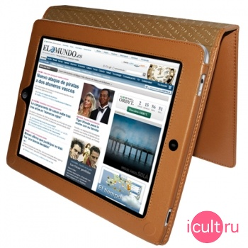 Piel Frama iPad magnetic Case Tan (бежевый) для iPad