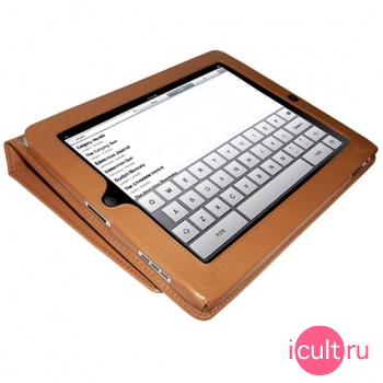 Piel Frama iPad magnetic Case Tan