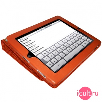 Piel Frama iPad magnetic Case Orange