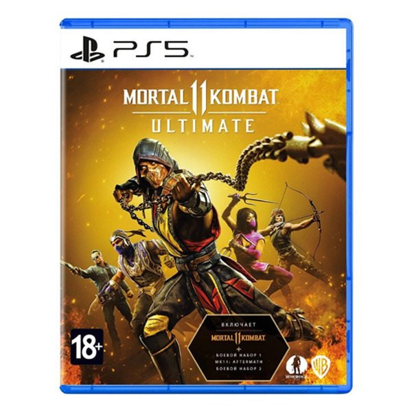 Игра Mortal Kombat 11 Ultimate для PS5
