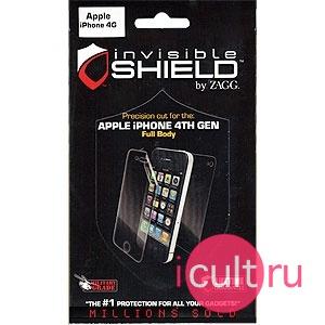 ZAGG Invisible Shield Full Body для iPhone 4