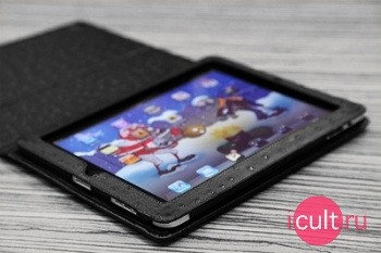 Кожаный чехол Alexander для iPad черный