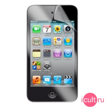Матовая защитная плёнка для iPod Touch 4G  iLuv Glare-Free Screen Protector for iPod Touch 4G ICC1115