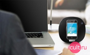 Акустическая система для iPod и iPhone iLUV IMM190BLK черная