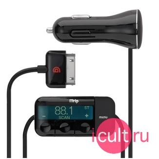 FM-трансмиттер + зарядное устрйоство для iPod и iPhone Griffin iTrip Auto GA22042