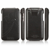 Чехол SGP Valencia Leather Pouch Black для iPod Touch 4G черный SGP07147