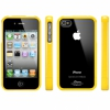 Чехол SGP Linear Crystal Series Reventon Yellow для iPhone 4/4S желтый SGP07586