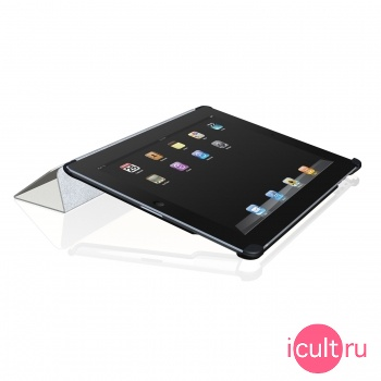 Чехол-подставка для iPad 2 Macally Bookstand 2 Microfiber Cover and Stand BOOKSTAND2B