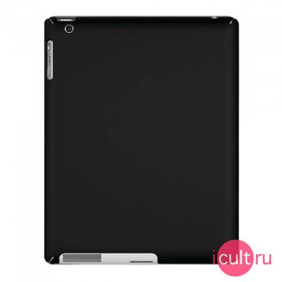 Чехол Macally Snap-On Case Black для iPad 2/3/4 черный SNAP-2B
