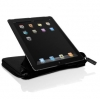 Чехол-ежедневник для iPad 2/3/4 Macally Premium Leather Case and Organizer черный BOOKSTANDPRO
