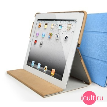 SGP iPad 2 Leather Case Leinwand