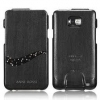 Чехол SGP Leather Case Anne Rossi Twilight Series для Samsung Galaxy S2 черный SGP08030