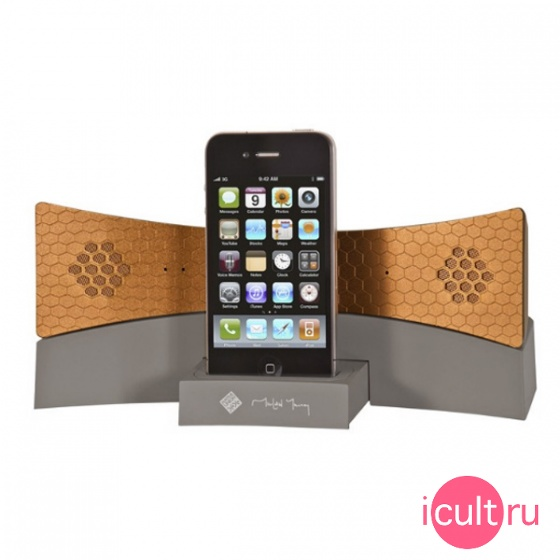 Телефонная Bluetooth гарнитура с доком Native Union Speaker Taupe/Copper для iPhone MM04-TCO-ST