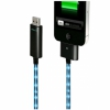 Провод Dexim Visible Green Cable Black/Blue для iPod/iPhone/iPad DWA063BU