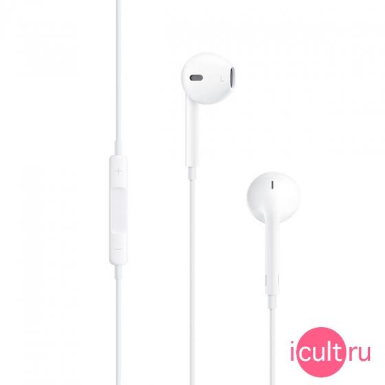 MD827 Гарнитура Apple EarPods с управлением громкостью и микрофоном ... d288bfac233c3
