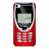 Чехол artske Old Mobile Red для iPhone 4/4S UC-D12R-IP4S