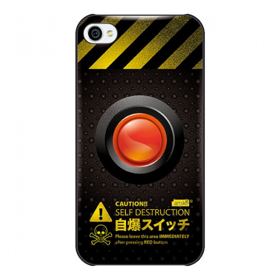 Чехол artske Self Destruction для iPhone 4/4S UC-D22-IP4S