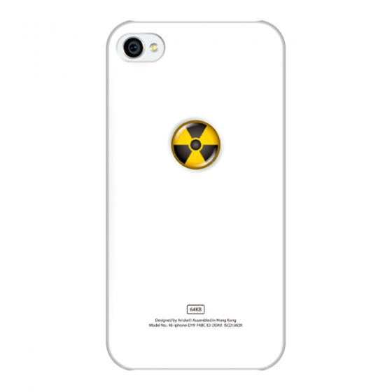 Чехол artske Radiation для iPhone 4/4S UC-D19-IP4S