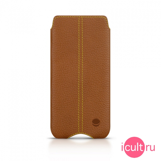 Кожаный чехол Beyzacases Zero Series Case Tan для iPhone 5/SE загар BZ23240