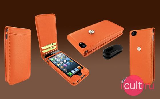 Piel Frama Magnetic Leather Case Orange
