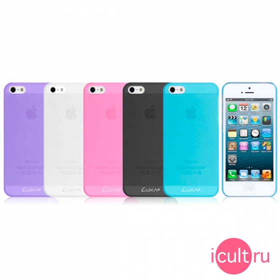 Luxa2 iPhone 5 Airy Case Blue