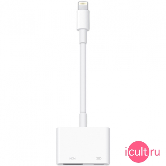 MD826ZM/A Переходник Apple Lightning HDMI Digital AV Adapter