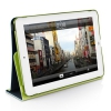 Чехол-подставка Macally Protective Case With Rotatable Stand Green для iPad mini зелёный SSTANDGR-M1
