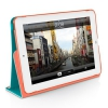 Чехол-подставка Macally Protective Case With Rotatable Stand Rose для iPad mini розовый SSTANDRS-M1