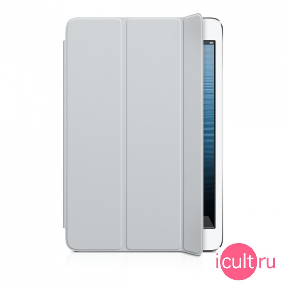 MD967 Чехол Apple iPad mini Smart Cover Light Gray для iPad mini 1/2/3 светло-серый