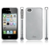Чехол SGP Linear Color Series Satin Silver для iPhone 4/4S серебристый SGP07584