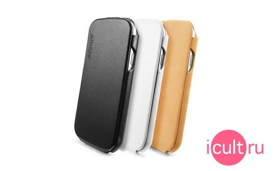 SGP Leather Case Argos Series White