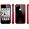 Чехол SGP Linear Crystal Series Dante Red для iPhone 4/4S красный SGP07585