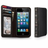 Чехол-книга Twelve South BookBook Black для iPhone 5/SE черный 12-1233