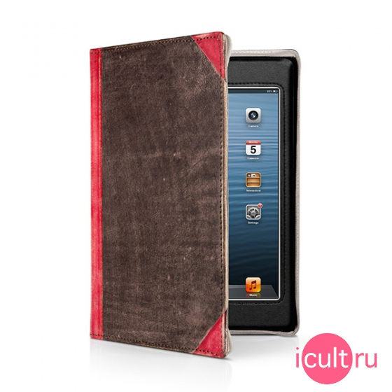 Чехол-книга Twelve South BookBook Vintage Red для iPad mini 1/2/3 красный 12-1236