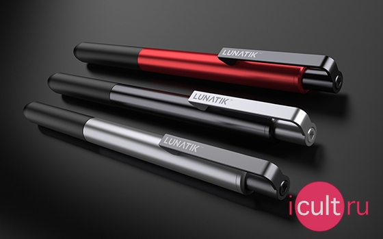 Lunatik Touch Pen Alloy Black