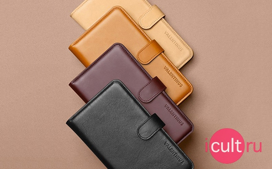 SGP Leather Wallet Case Valentinus Black