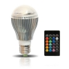 Управляемая мультицветная лампа BrightChoice Kuler Bulb Color Changing 10W/E27 серебристая