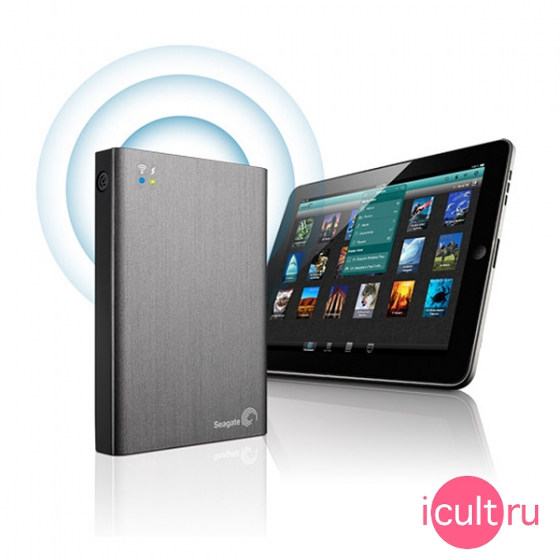 Внешний жесткий диск Seagate Wireless Plus Mobile Device Storage 1Tb STCK1000200