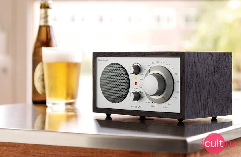 Tivoli Audio Model One Radio Black Ash/Silver