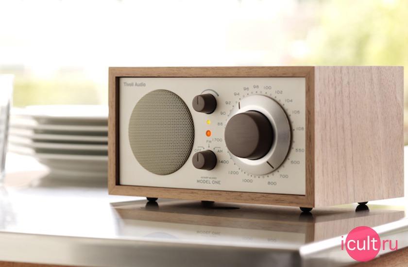 Tivoli Audio Model One Radio Cherry/Silver