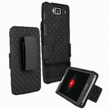 Чехол Shell Combo with Holster and Kickstand для Motorola RAZR Maxx MOT912M