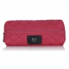 Мини-сумка Knomo Quilted Cable Pouch Teaberry красная KN-14-077-TBR