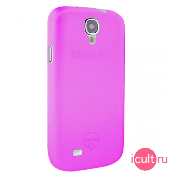 Чехол Ozaki O!Coat 0.4 Jelly-1 Purple для Samsung Galaxy S4 фиолетовый OC701PU